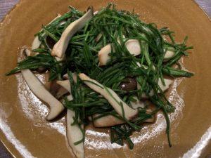 水蓮菜の炒め物